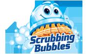 Logo Scrubbing Bubbles