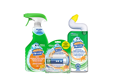 Scrubbing Bubbles Products