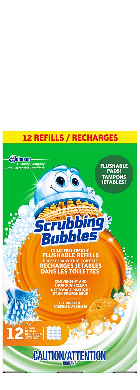 Scrubbing Bubbles Fresh Brush Flushable Refill