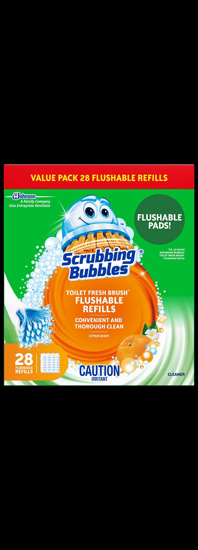 Scrubbing Bubbles Fresh Brush 28ct English
