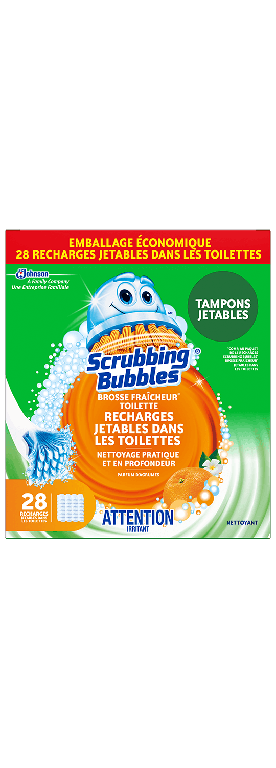 Scrubbing Bubbles Fresh Brush 28ct French