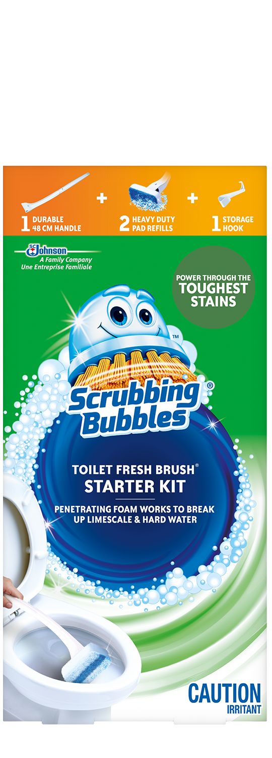 Scrubbing Bubbles Fresh Brush Starter