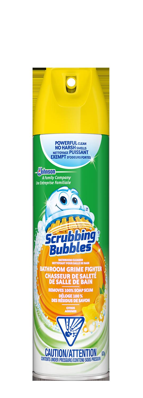 Scrubbing Bubbles Grime Fighter Trigger Aerosol Citrus