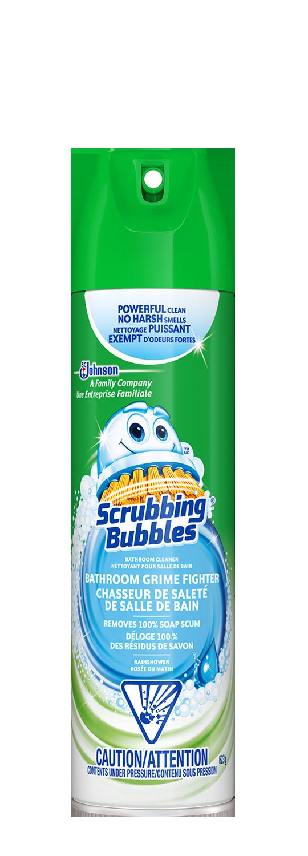 Scrubbing Bubbles Grime Fighter Trigger Aerosol Rainshower