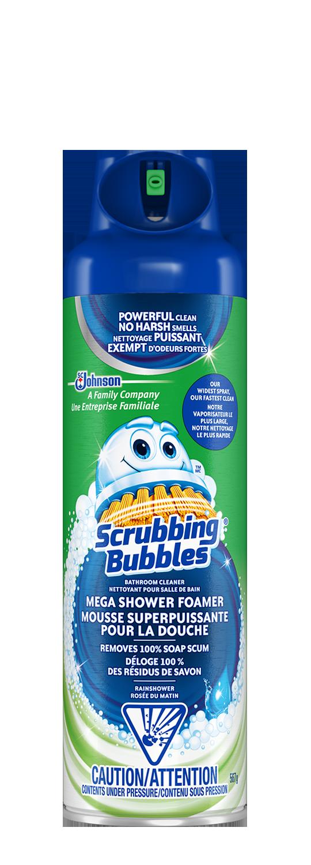 Scrubbing Bubbles Mousse superpuissante pour la douche