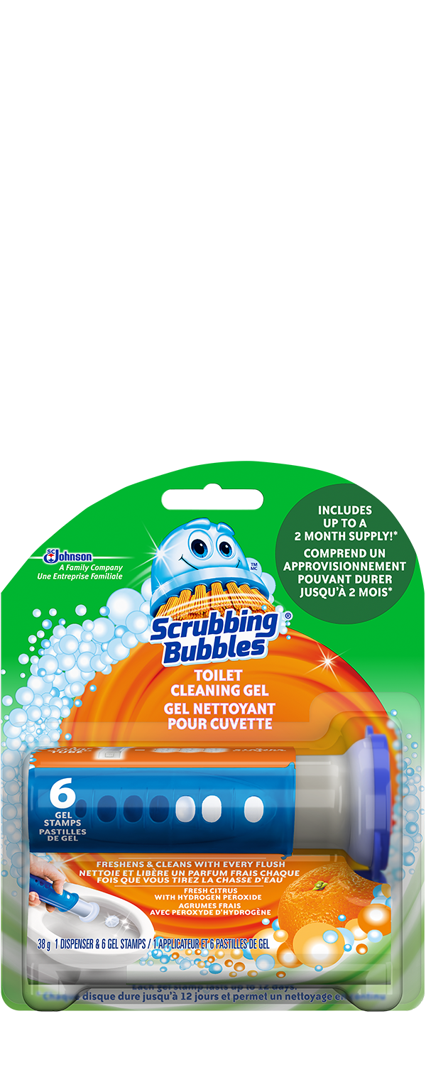 Scrubbing Bubbles Toilet Gel Citrus