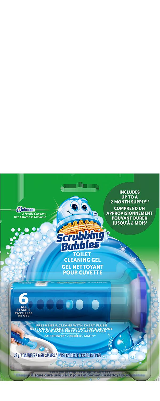 Scrubbing Bubbles Toilet Gel Rainshower