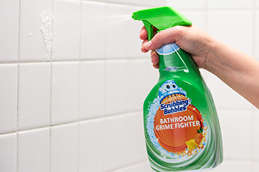 Éliminez les résidus de savon